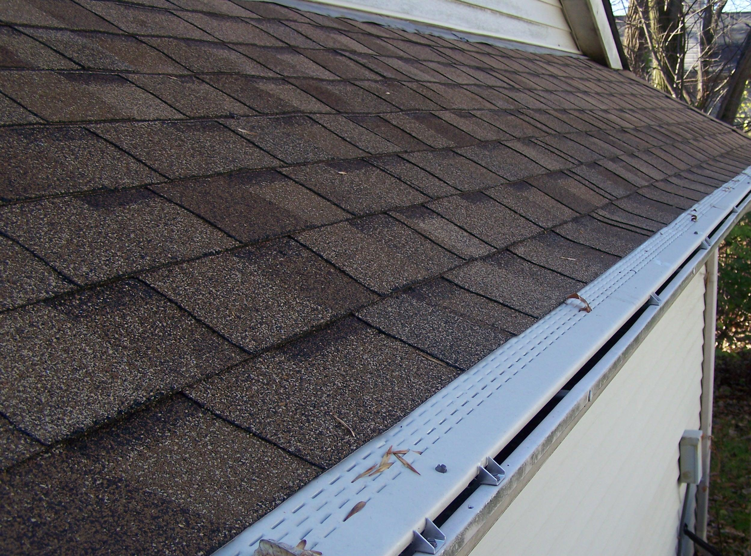 Original Gutter Cover maintains your home's curb appeal.